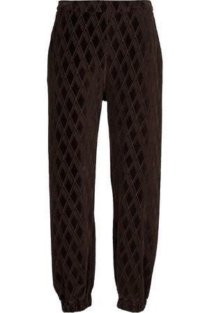 The Attico Peggy cotton-blend sweatpants