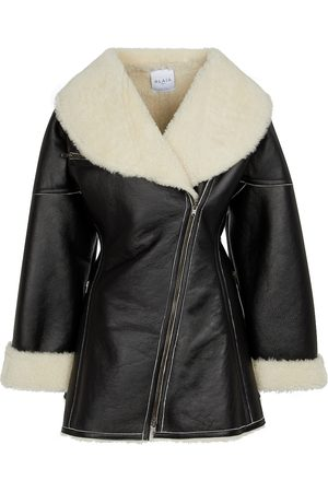 Alaïa Edition 1987 shearling and leather coat