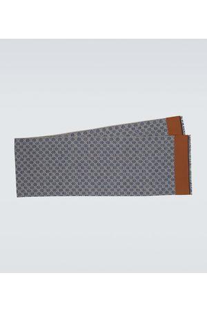 Gucci GG cotton jacquard scarf