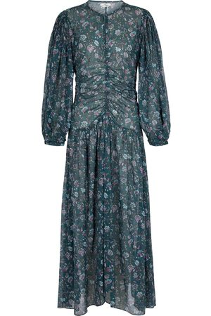 Isabel Marant Mariana floral cotton midi dress