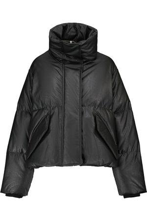 MM6 MAISON MARGIELA Faux leather down jacket