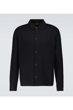 Loro Piana Whitney cotton-blend overshirt