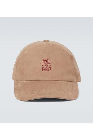 Brunello Cucinelli Leather cap