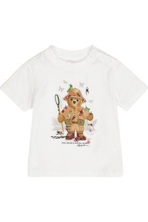 Ralph Lauren Baby Polo Bear cotton jersey T-shirt