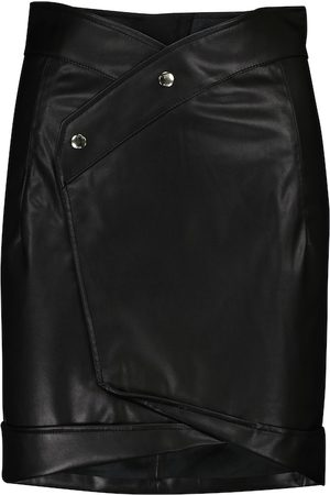RTA Paloma faux-leather miniskirt
