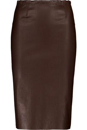 Stouls Gilda leather pencil skirt