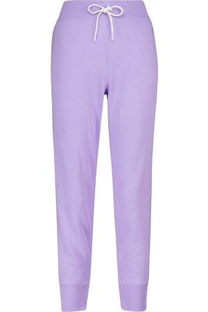 Polo Ralph Lauren Cotton-blend jersey sweatpants