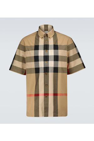 Burberry Thames checked shirt