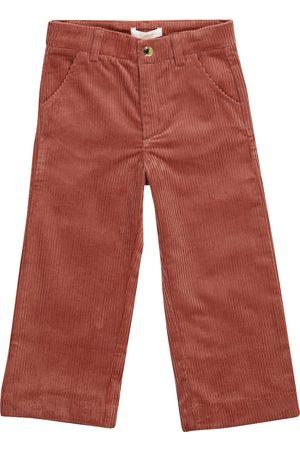 Chloé Stretch-cotton corduroy straight pants