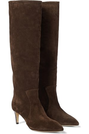 PARIS TEXAS Knee-high suede boots