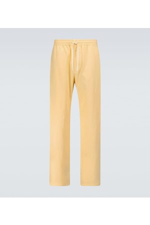Gucci Drawstring cotton pants