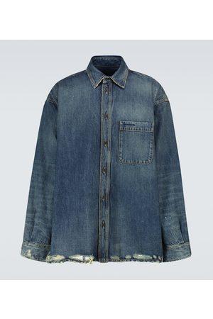 Balenciaga Long-sleeved denim shirt