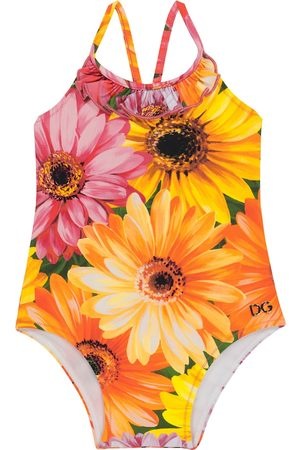 Dolce & Gabbana Baby floral swimsuit