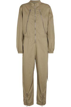 MM6 MAISON MARGIELA Zipped cotton jumpsuit