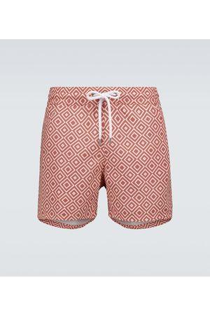 Frescobol Carioca Angra printed swim shorts