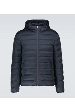 Loro Piana Gateway down-filled silk jacket