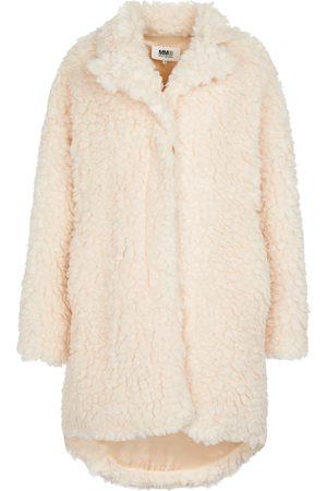 MM6 MAISON MARGIELA Faux shearling teddy coat