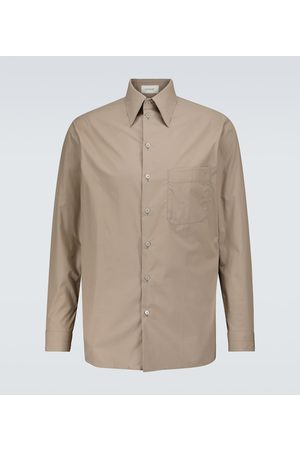 LEMAIRE Long-sleeved cotton shirt