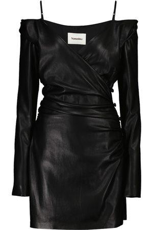 Nanushka Moha faux leather minidress