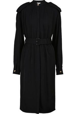 Burberry Silk crêpe midi dress
