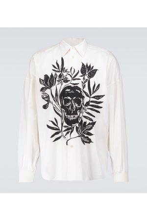 Alexander McQueen Skull printed cotton shirt