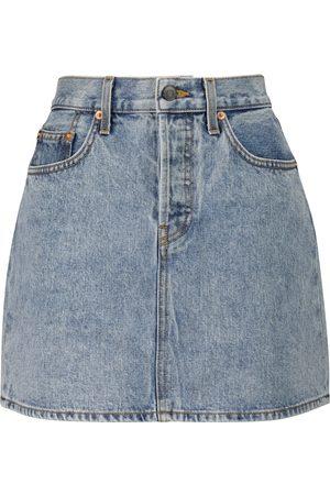 WARDROBE.NYC Mini denim skirt