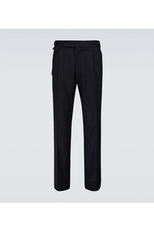 LARDINI Drop stretch-wool pants