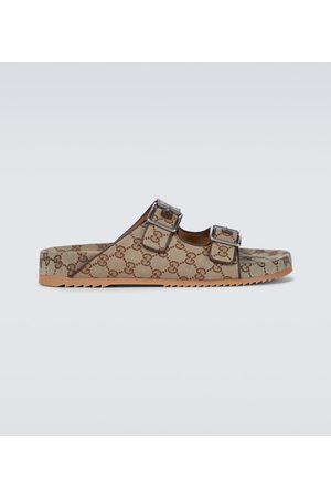 Gucci GG Supreme canvas sandals