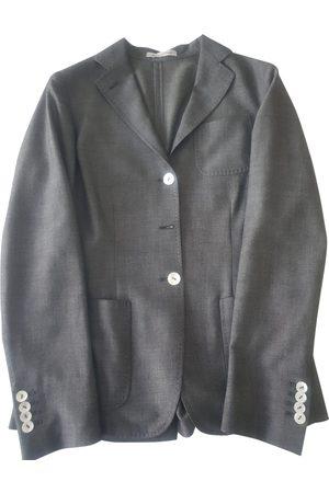 CANTARELLI Grey Linen Jackets