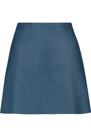 Stouls Santa Maria leather miniskirt