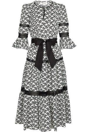 Diane von Furstenberg Julia cotton poplin midi dress