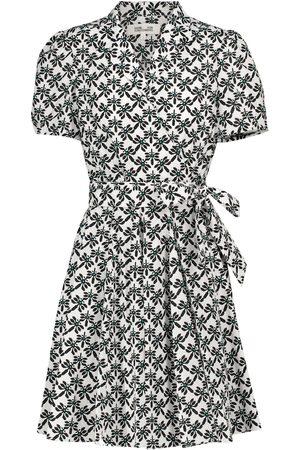 Diane von Furstenberg Evalina cotton poplin minidress