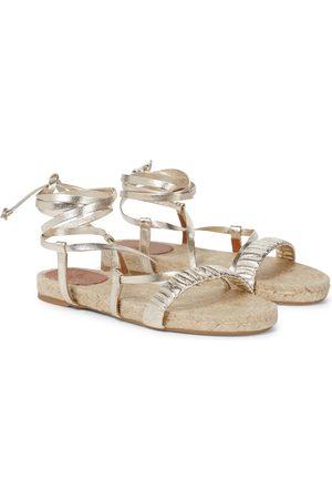 Castaner Pilar leather espadrille sandals