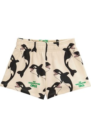 Mini Rodini Orca cotton shorts