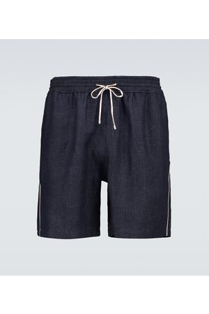 Loro Piana Bay Sprint linen swim shorts