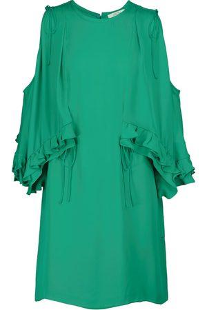 Dorothee Schumacher Fluid Luxury silk minidress