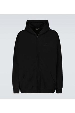 Balenciaga Resort zipped hooded sweatshirt