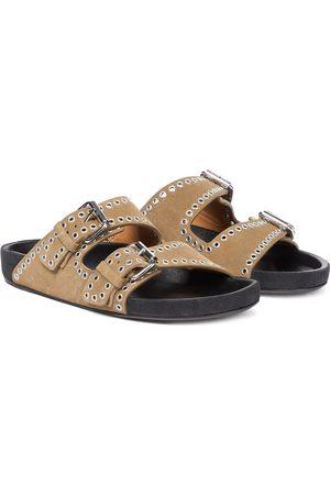 Isabel Marant Lennyo embellished suede sandals