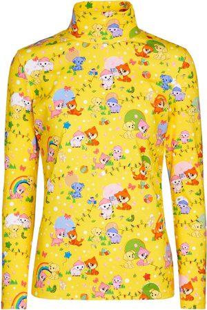 Balenciaga Printed cotton jersey top