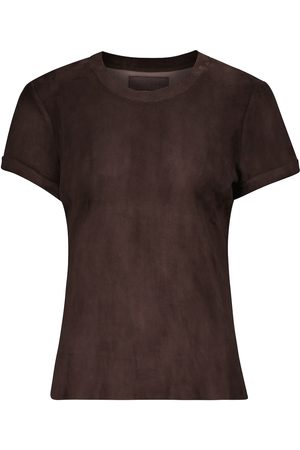 Stouls S.05 leather T-shirt