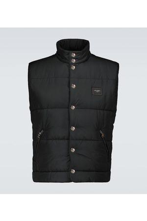 Dolce & Gabbana Nylon padded vest