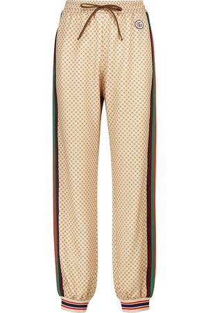 Gucci GG technical jersey trackpants