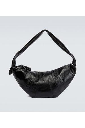 LEMAIRE Croissant large leather bag