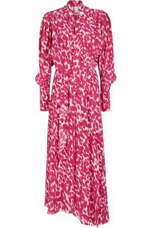 Isabel Marant Bisma printed stretch-silk maxi dress
