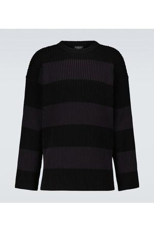 Balenciaga Striped crewneck sweater