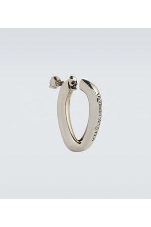 Alexander McQueen Single chain hoop earring