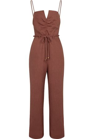 Nanushka Helen linen jumpsuit