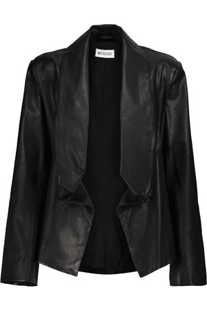 MATICEVSKI Cropped leather blazer