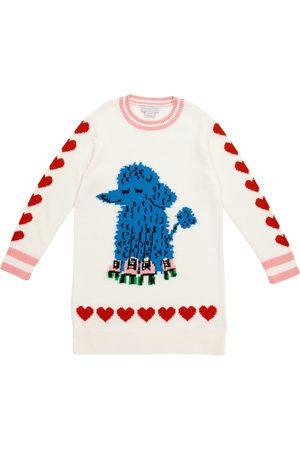 Stella McCartney Poodle intarsia knit dress