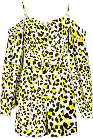 Diane von Furstenberg Susanna leopard-print crêpe jumpsuit